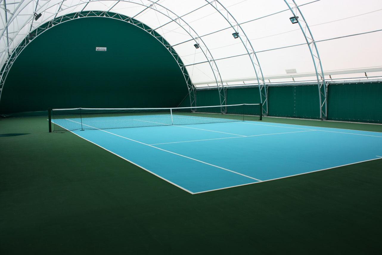 Restauro campi da tennis vernici per basket pallavolo e - Campi da pallavolo gratis stampabili ...