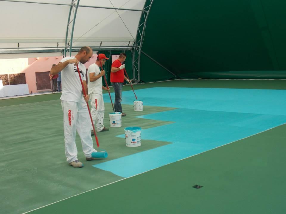 Campo indoor ed outdoor epogumm j 52 resine per campi da - Campi da pallavolo gratis stampabili ...